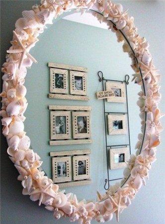 Зеркало для ванной своими руками
